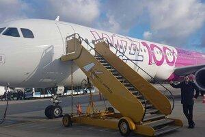 Lietadlo spoločnosti Wizz Air