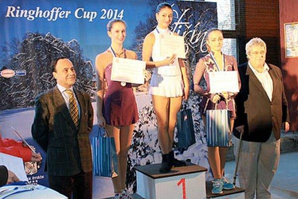 Izabela Frišová obsadila tretie miesto na pretekoch v Prahe.