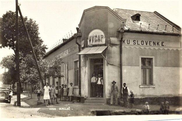 Výčap Ku Slovenke, v súčasnosti (zavretá) cukráreň.