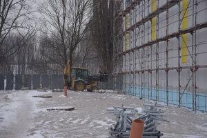 Tréningová hokejová hala na Podháji.