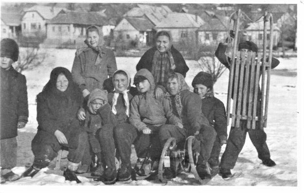 Sneh si užívali deti a vraj aj dospelí.