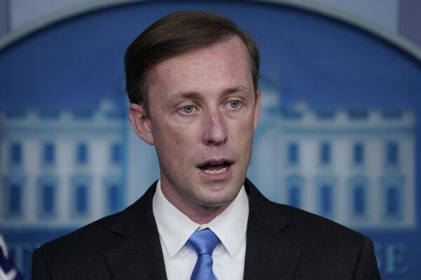 Poradca Bieleho domu pre národnú bezpečnosť Jake Sullivan.