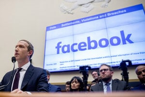 Zakladateľ Facebooku Mark Zuckerberg.