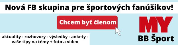PRIDAJ SA! Nová FB skupina BB ŠPORT pre športových fanúšikov!