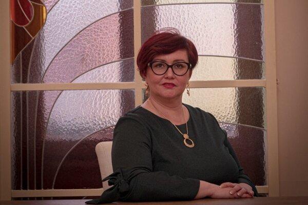 JUDr. Alexandra Gieciová, primátorka mesta Topoľčany