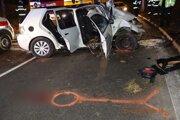 Tragická nehoda sa udiala nad ránom v Banskej Bystrici.