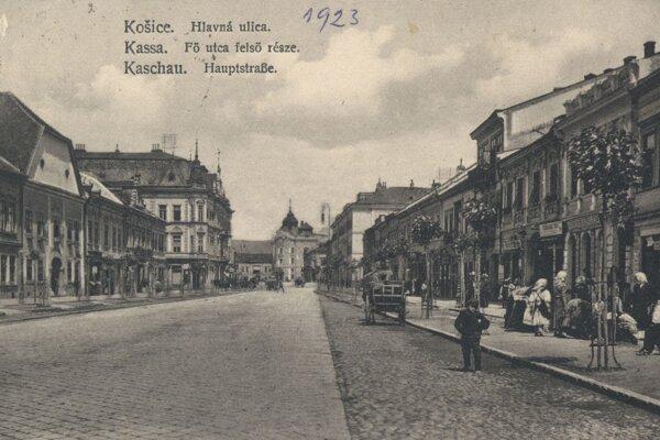 Hlavná ulica v Košiciach.