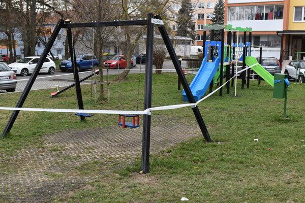 Humenné sa vracia k opáskovaným ihriskám. Fotografia je z 18. marca minulého roku.