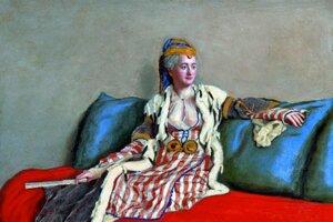 Lady Montagu v tureckých šatách, 1765