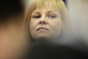 Ministerka Zvolenská.