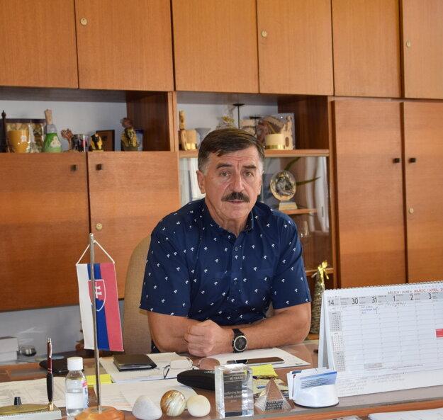Jozef Zanovit, riaditeľ Spojenej školy Martin.