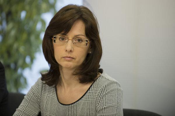 Riaditeľka Štátneho ústavu na kontrolu liečiv Zuzana Baťová.