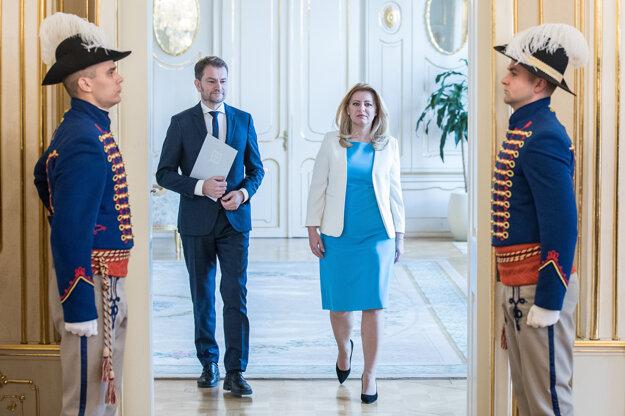 5.marec 2020. Bratislava Predseda hnutia OĽaNO Igor Matovič na TB po stretnutí s predsedom Za ľudí Andrejom Kiskom v rámci rokovaní o vytvorení vládnej koalície.