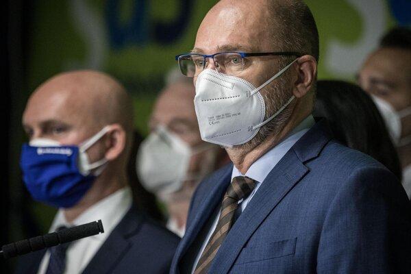 Predseda SaS, podpredseda vlády SR a minister hospodárstva SR Richard Sulík.