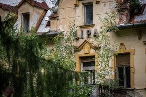 Liečebný dom Lipa v Trenčianskych Tepliciach.