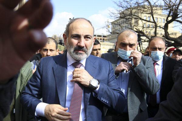 Arménsky premiér Nikol Pašinjan.