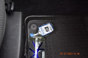 Fľaše od alkoholu mal na sedadle spolujazdca.