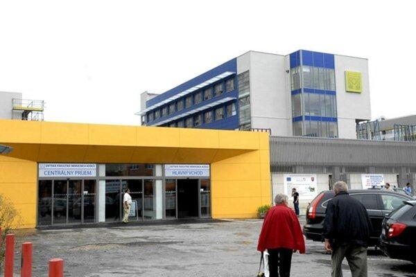 Detská nemocnica v Košiciach.