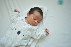 Timea Križanová (3280 g, 49 cm) sa narodila 19. marca Lucii a Mariánovi z Nemšovej-Kľúčového.