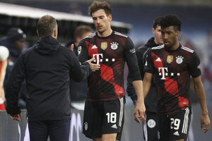 O výhre Bayernu Mníchov rozhodol Leon Goretzka.