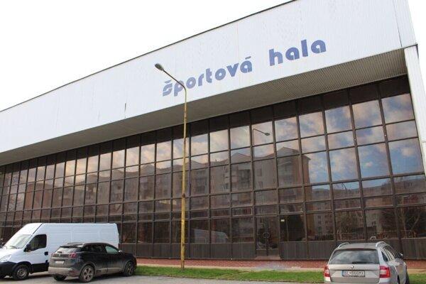Športová hala v Trebišove.