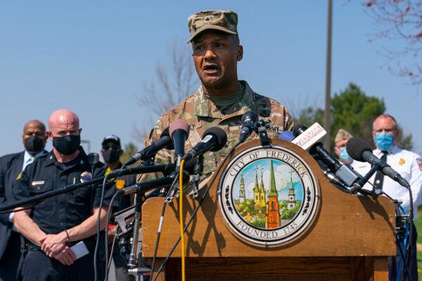Brigádny generál Michael J. Talley.