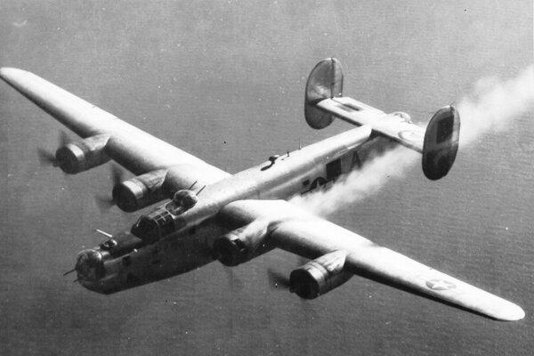 Americký bombardér Liberator, Niekoľko z nich skončilo púť po zostrelení aj v našom kraji