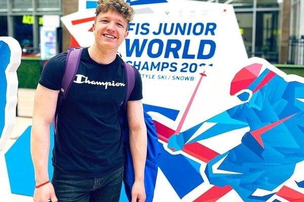 Jakub Valek premiérovo štartoval na majstrovstvách sveta v skikrose.