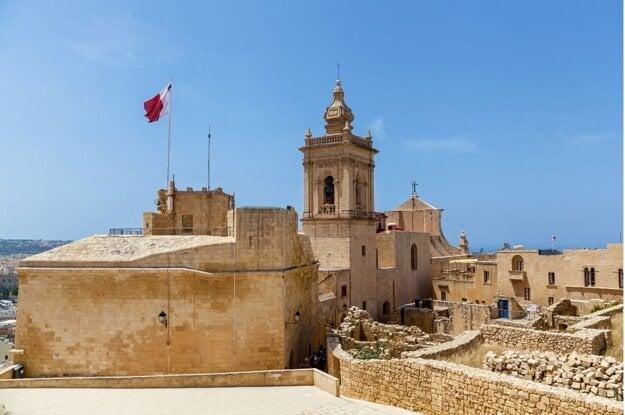 Citadela v meste Victoria, Gozo