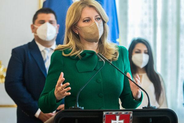 Prezidentka SR Zuzana Čaputová prijala Rómov a Rómky z prvej línie boja proti pandémii a jej dopadom pri príležitosti Medzinárodného dňa Rómov.