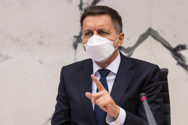 Guvernér Národnej banky Slovenska (NBS) Peter Kažimír.