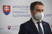 Bývalý predseda vlády a súčasný minister financií Igor Matovič (OĽaNO).