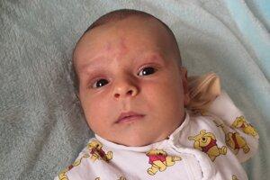 Vojtech Harča (4000 g a 52 cm) sa narodil 13. marca o 6.30 hodine ako prvorodený syn maminy Lucie Bahíkovej a ocka Vojtecha Harču z Beše.