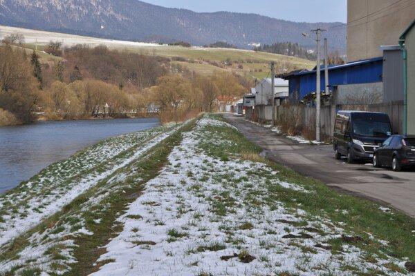 Ideálne miesto na cyklistiku či prechádzky.