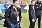Jozef Majoroš ako tréner MFK Zemplín Michalovce.