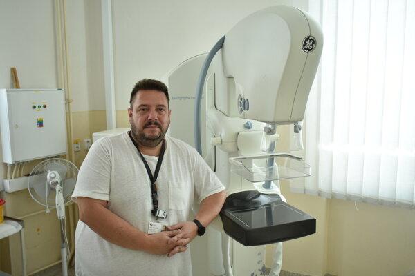 Rádiológ Mário Bôžik.