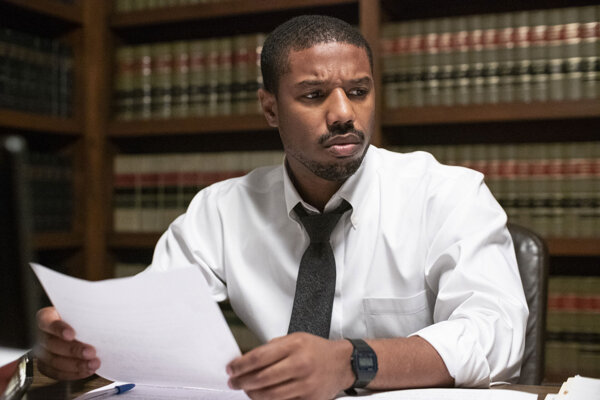 Michael B. Jordan ako advokát Bryan Stevenson vo filme Obhajca nevinných