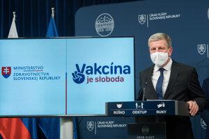 Minister zdravotníctva SR Vladimír Lengvarský.