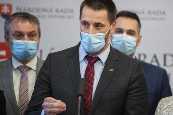 Koaličný poslanec parlamentu Marián Viskupič (SaS).