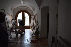 Rekonštrukcia priestorov v Krajskom múzeu v Prešove.