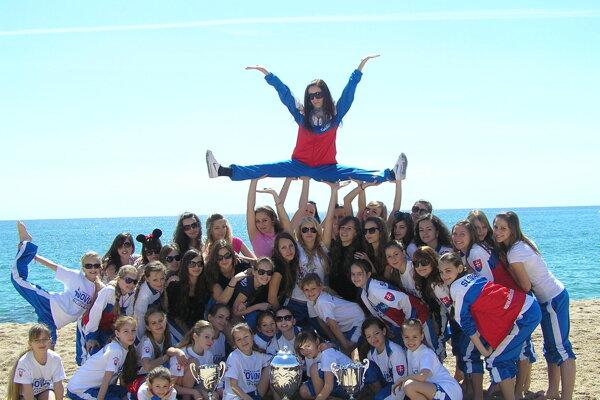V Barcelone sa topoľčiansky tanečný klub stal majstrom sveta.