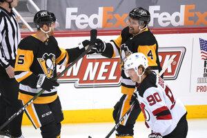 Hokejisti Pittsburghu sa tešia z gólu.