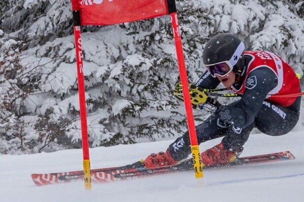 Adam Lasok obľubuje hlavne obrovský a superobrovský slalom.