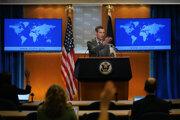 Hovorca rezortu diplomacie USA Ned Price.