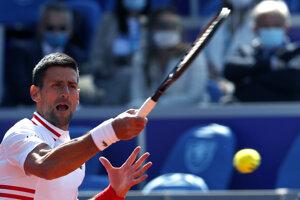 Novak Djokovič na ATP Belehrad.