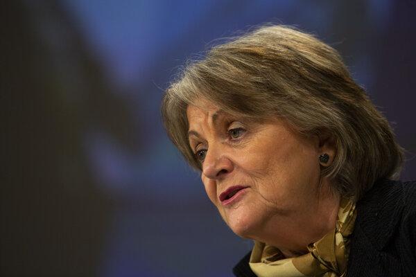 Eurokomisárka pre súdržnosť a reformy Elisa Ferreirová.