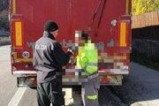 Vodič kamiónu nafúkal tri promile alkoholu.