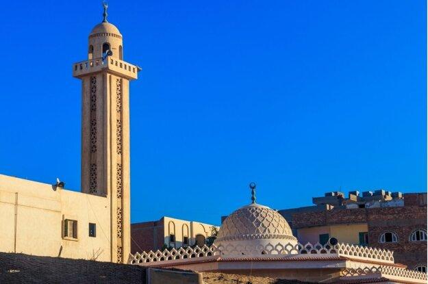 Mešita v štvrti Dahar, Hurghada