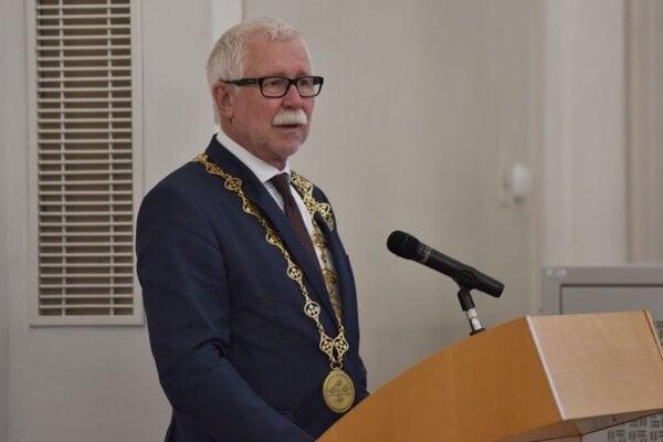 Pavol Šajgalík, predseda Slovenskej akadémie vied.