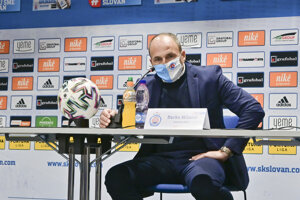 Darko Milanič, tréner ŠK Slovan Bratislava.